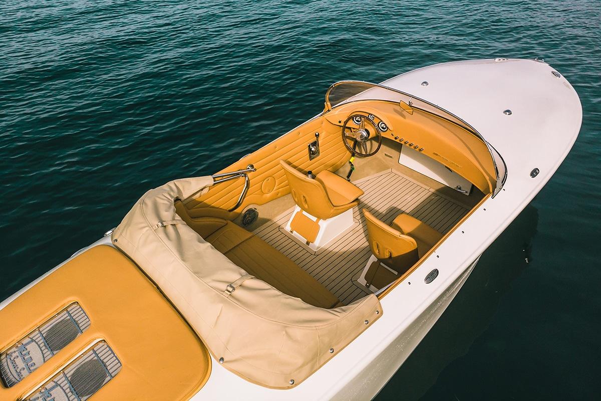 Hermes Speedster E Dayboat Top