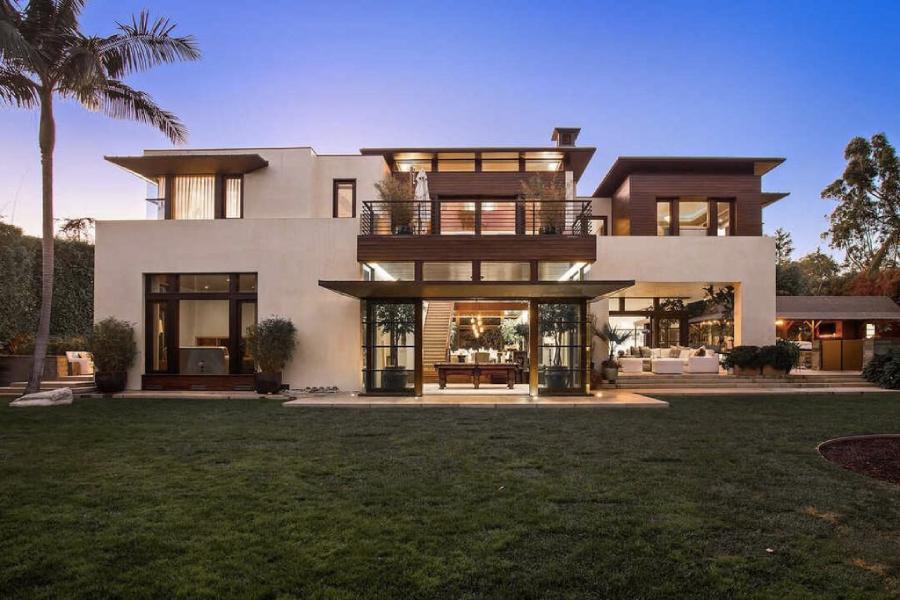 In dem 27 Millionen Dollar teuren kalifornischen Haus verkauft Matt Damon