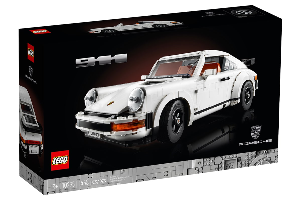 Lego Porsche 911 Building Set Box vorne