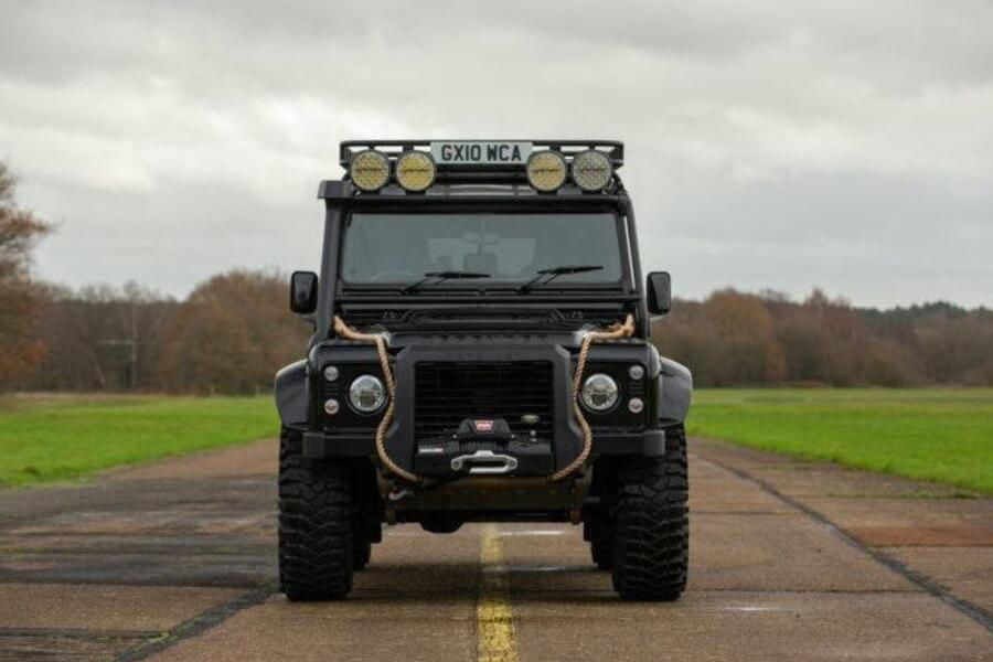 2010 Land Rover Defender Spectre Front