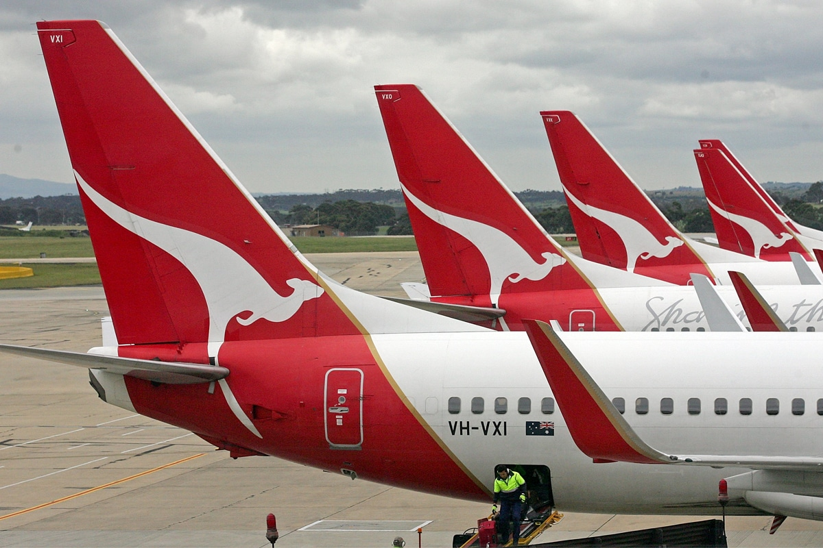 Qantas Loss International Flüge 1