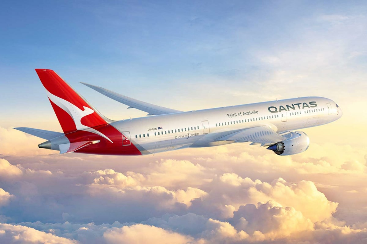 Qantas Loss International Flüge 1