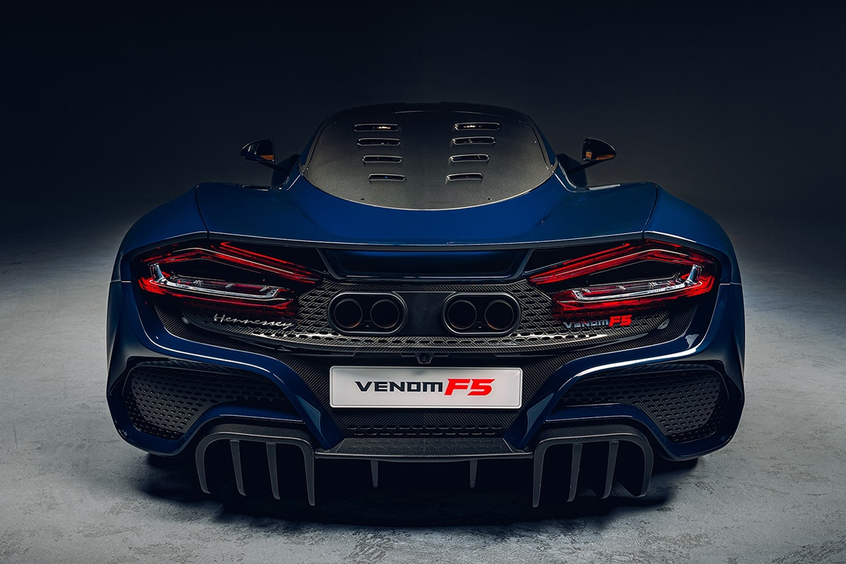 2021 Venom f5 zurück