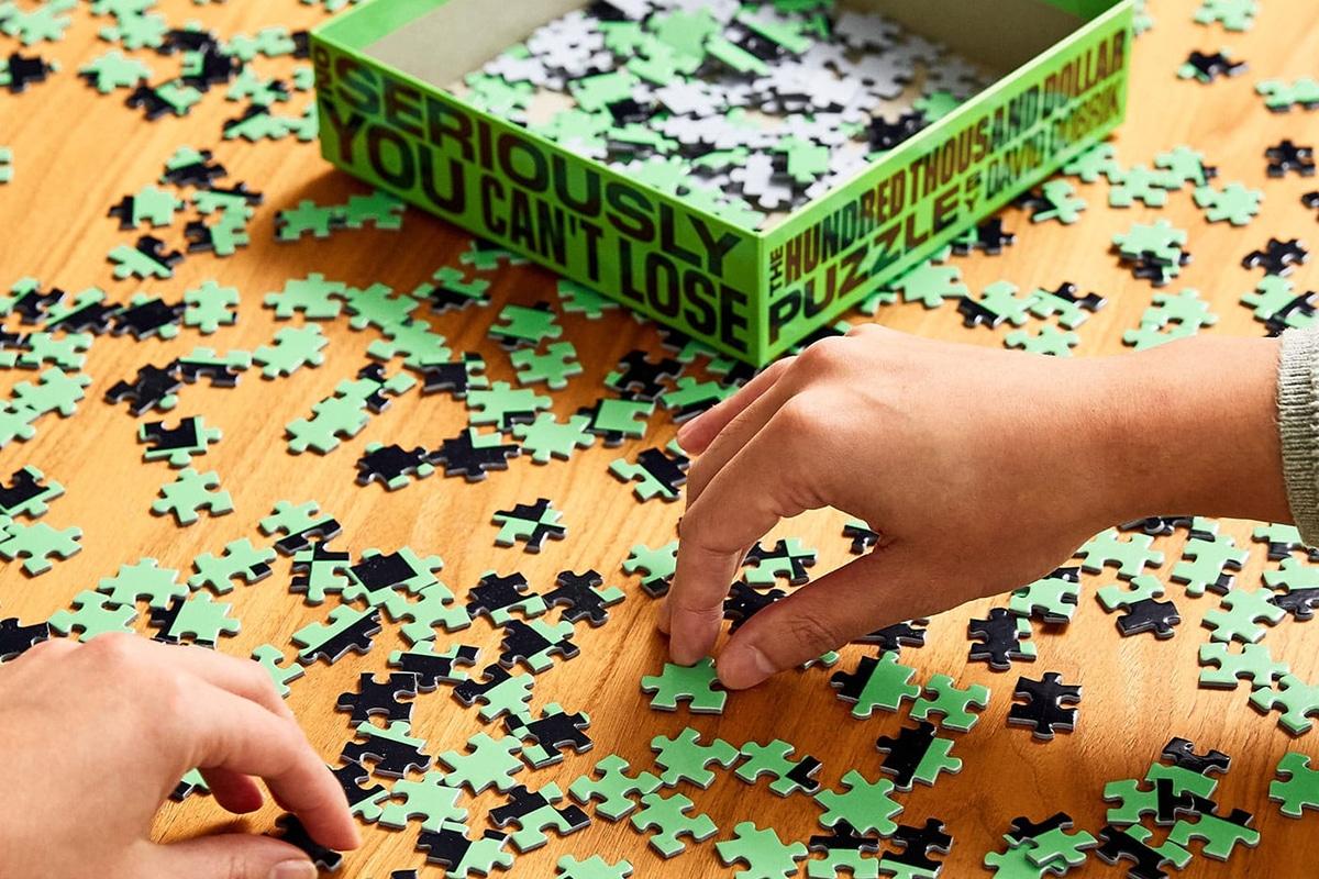 100k Puzzle machen