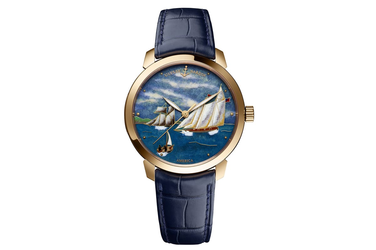 Ulysse Nardin Classico Emaille America