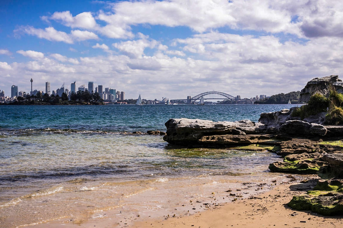 Best Views and Lookout Points in Sydney Milk Beach