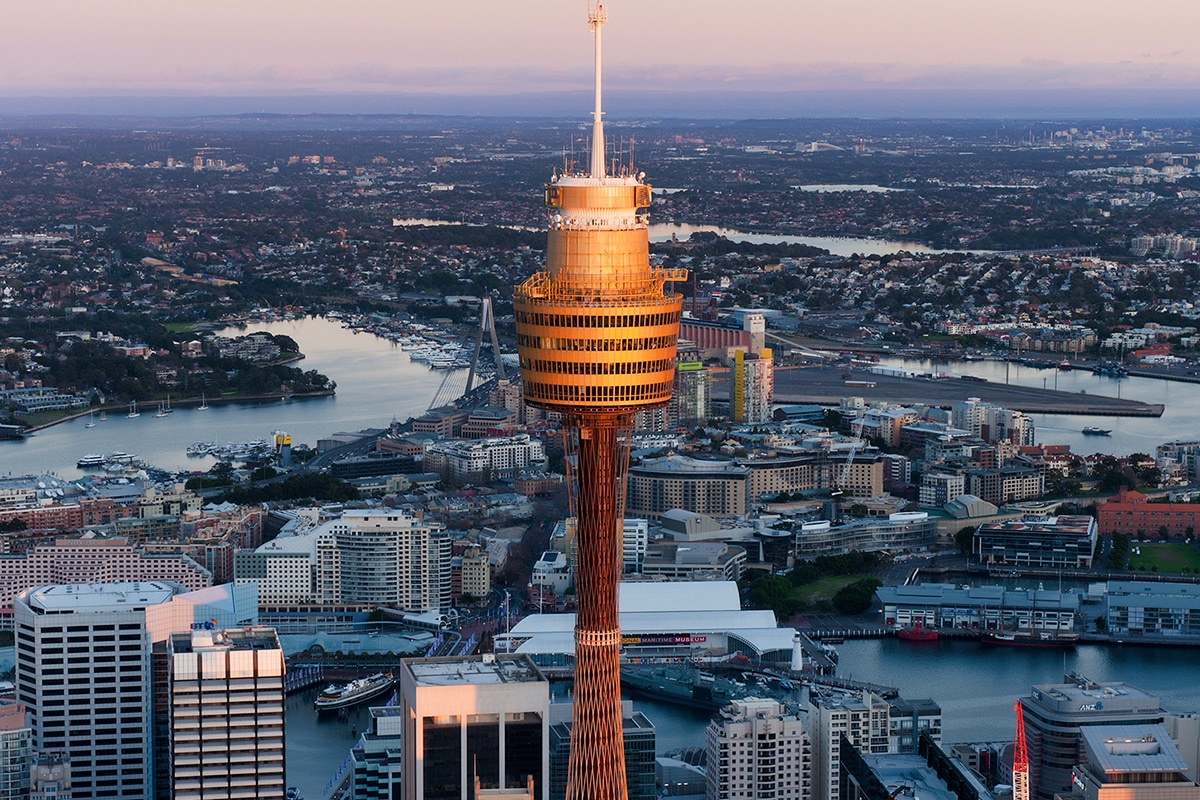 Best Views and Lookout Points in Sydney Sydney Tower Eye