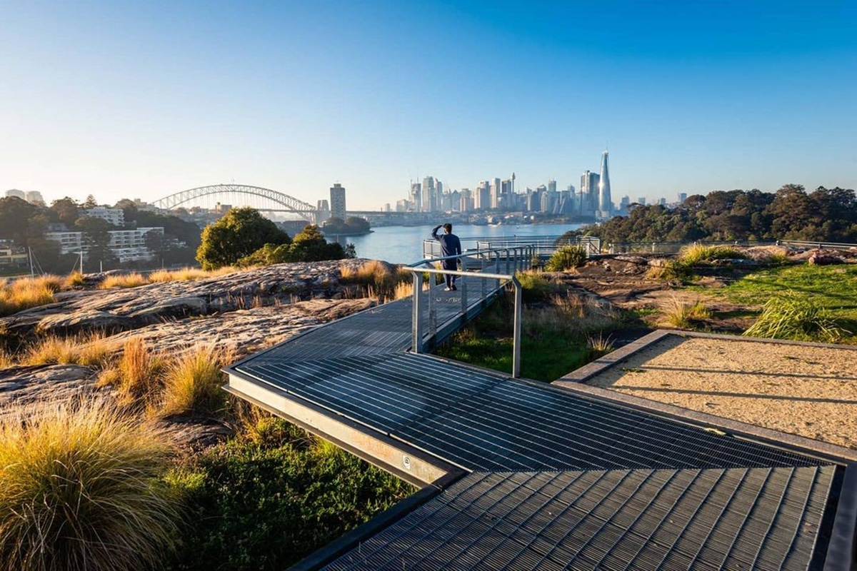 Best Views and Lookout Points in Sydney Berrys Bay Lookout