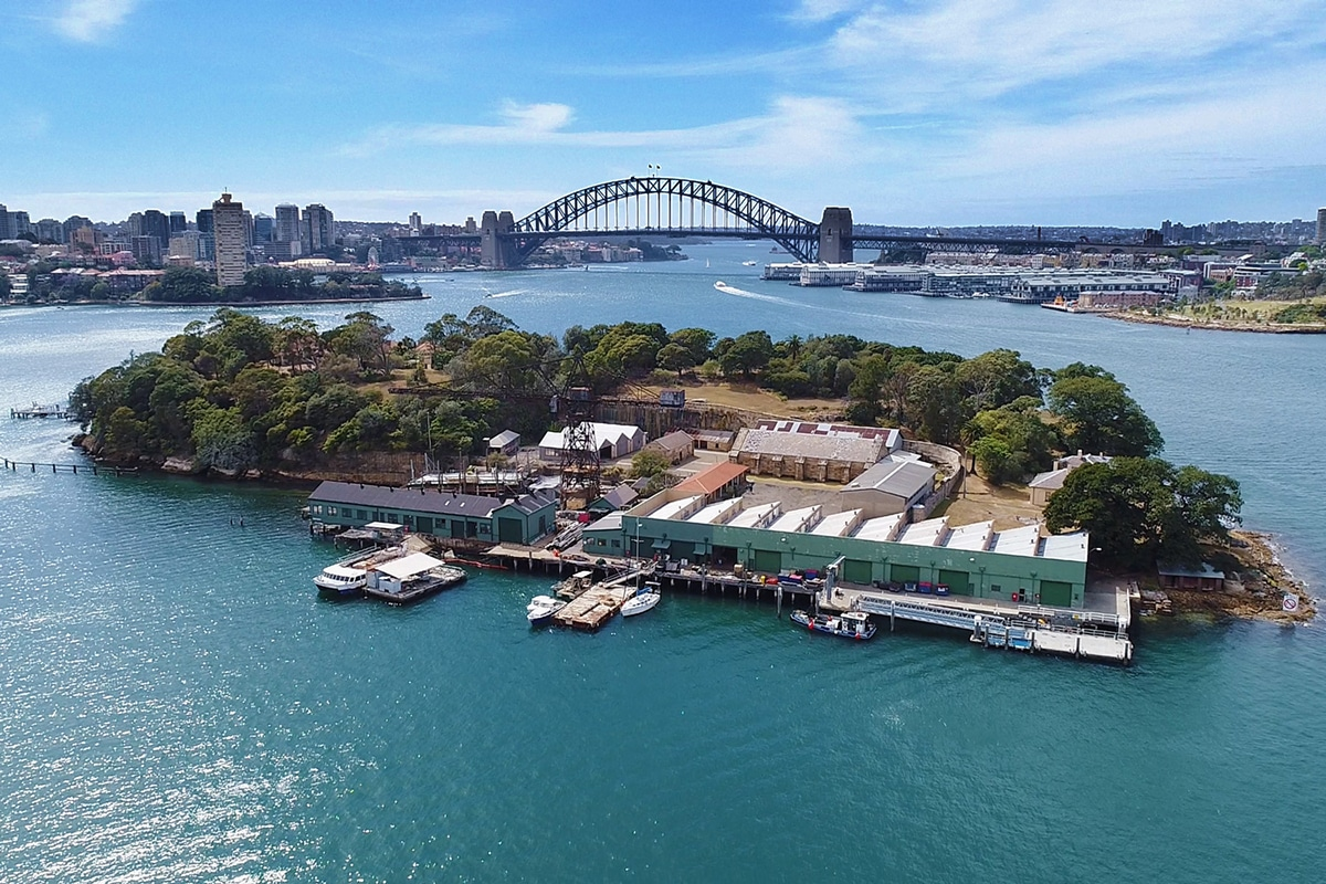 Best Views and Lookout Points in Sydney Goat Island