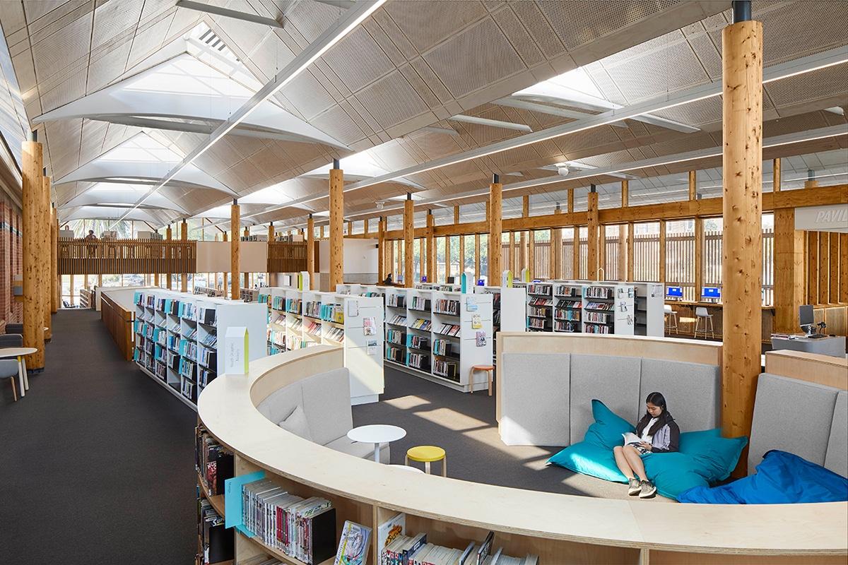 Beste Bibliotheken in der Sydney Marrickville Library und im Pavillion