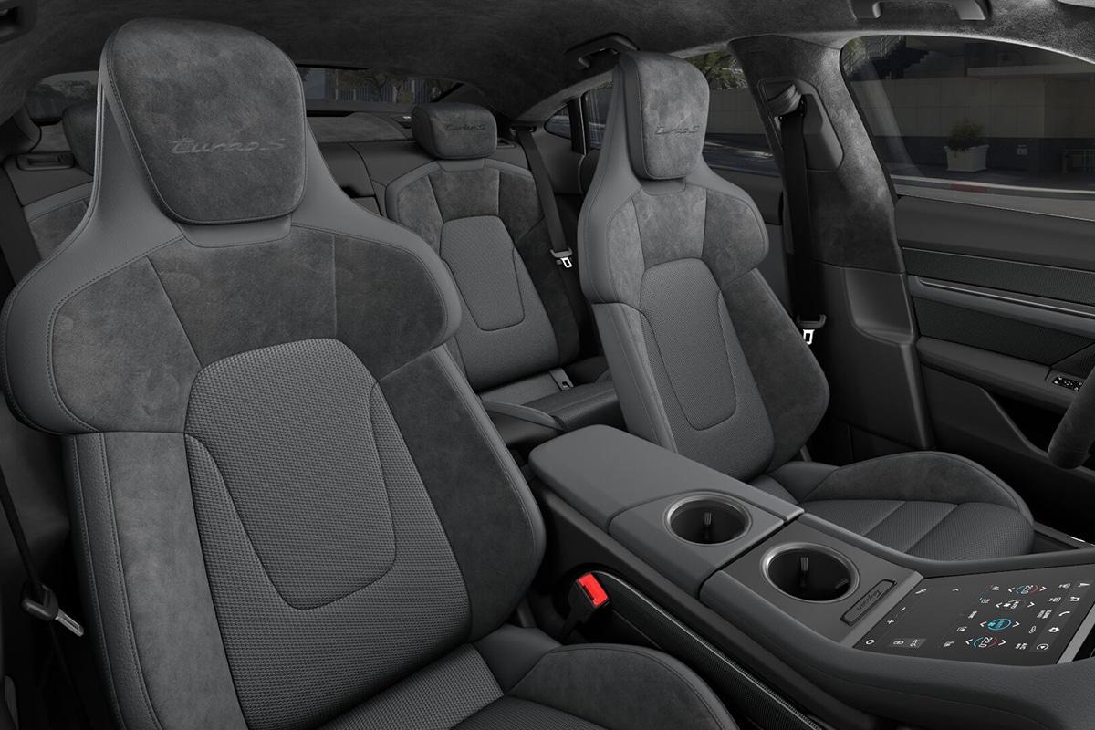 2021 Porsche Taycan Limousinensitze