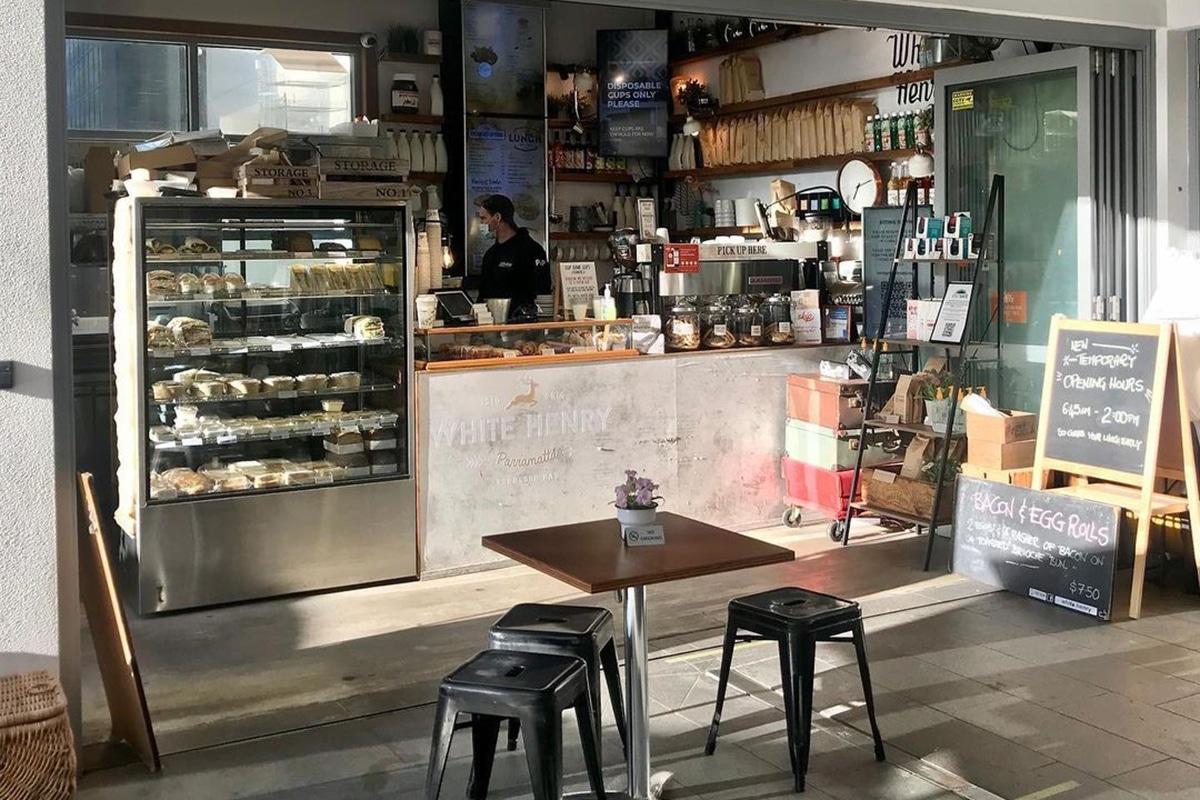 Beste Parramatta Cafes für Brunch und Mittagessen White Henry Espresso Bar & Catering