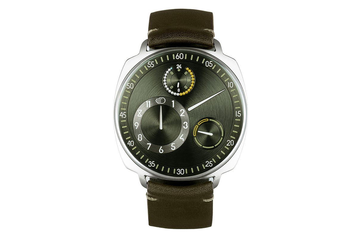 Ressence Die Typ 1 Squared X Front