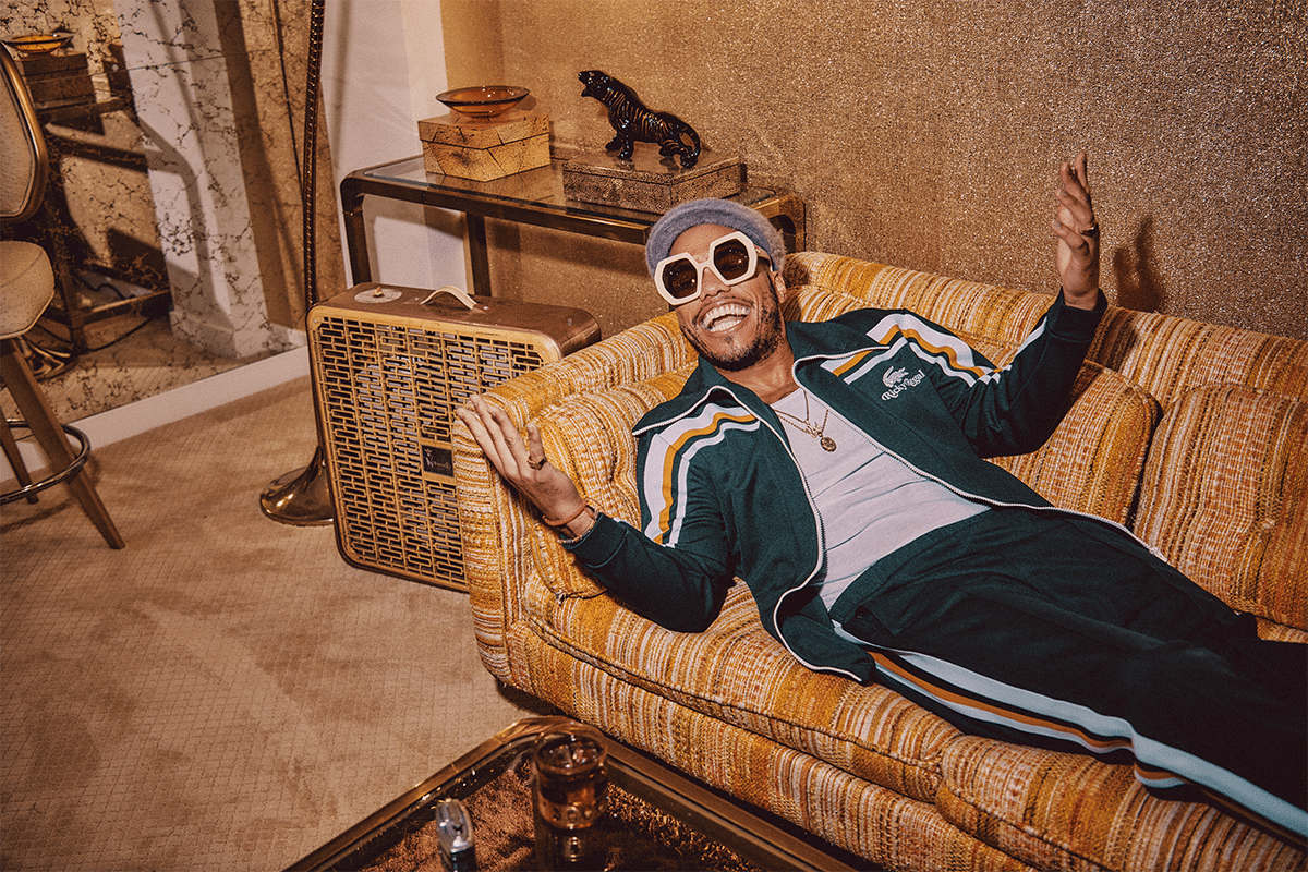 Lacoste x Ricky Regal Anderson Paak