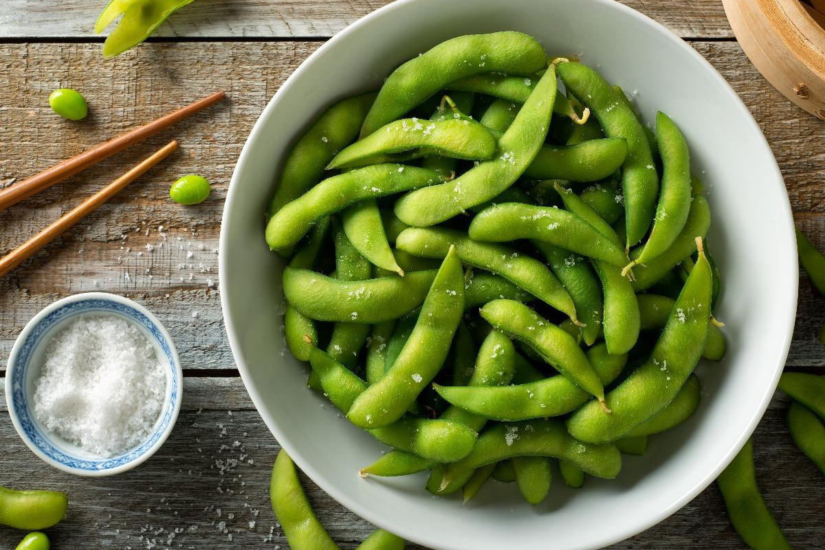 Best High Protein Snacks for On the Go Edamame