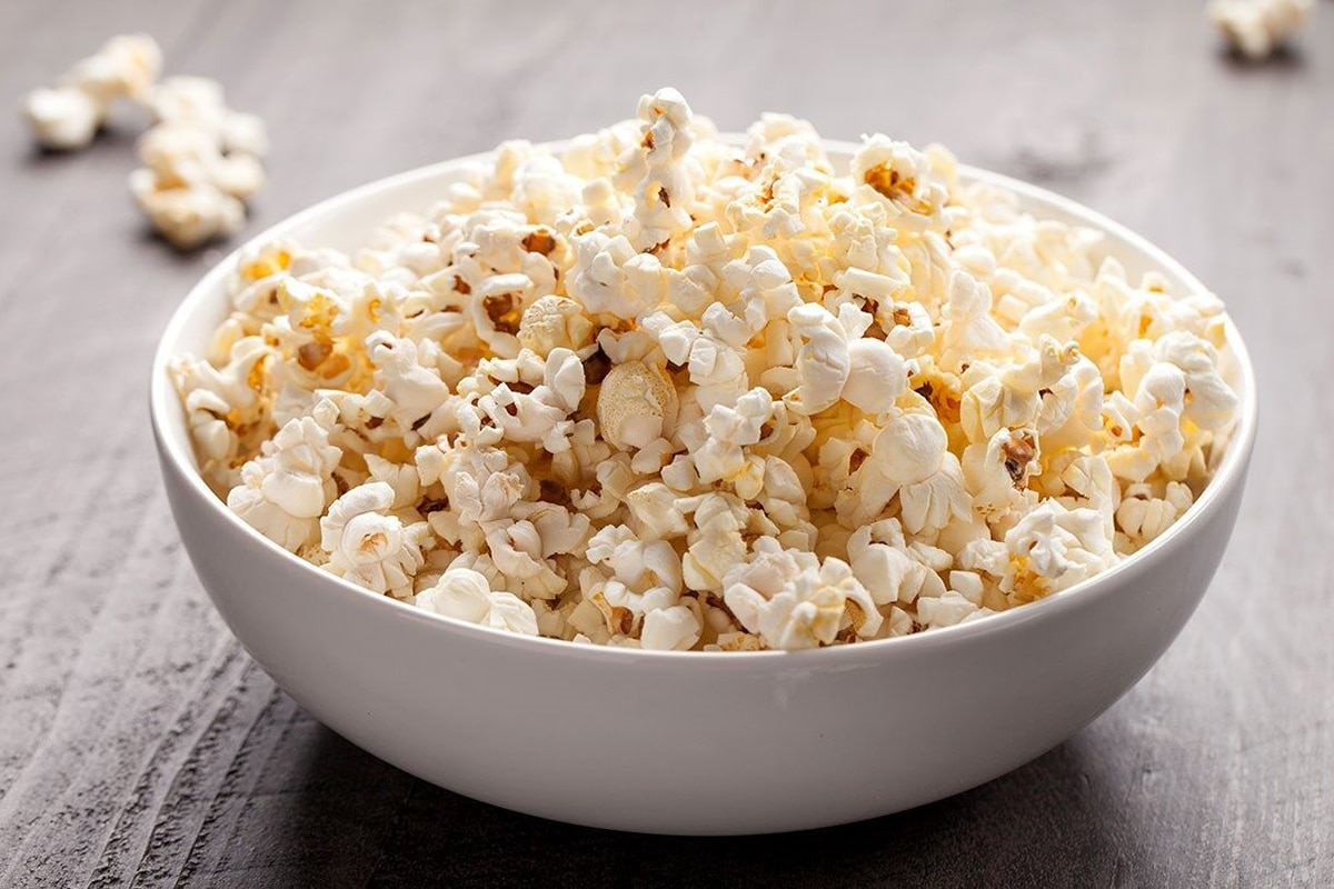 Best High Protein Snacks for On the Go Air Popped Popcorn