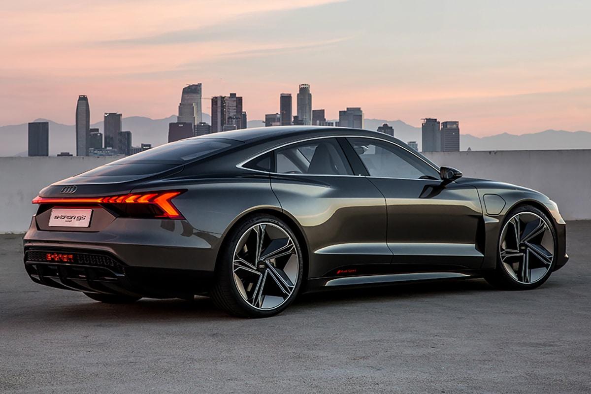 Audi E-tron GT Rückansicht