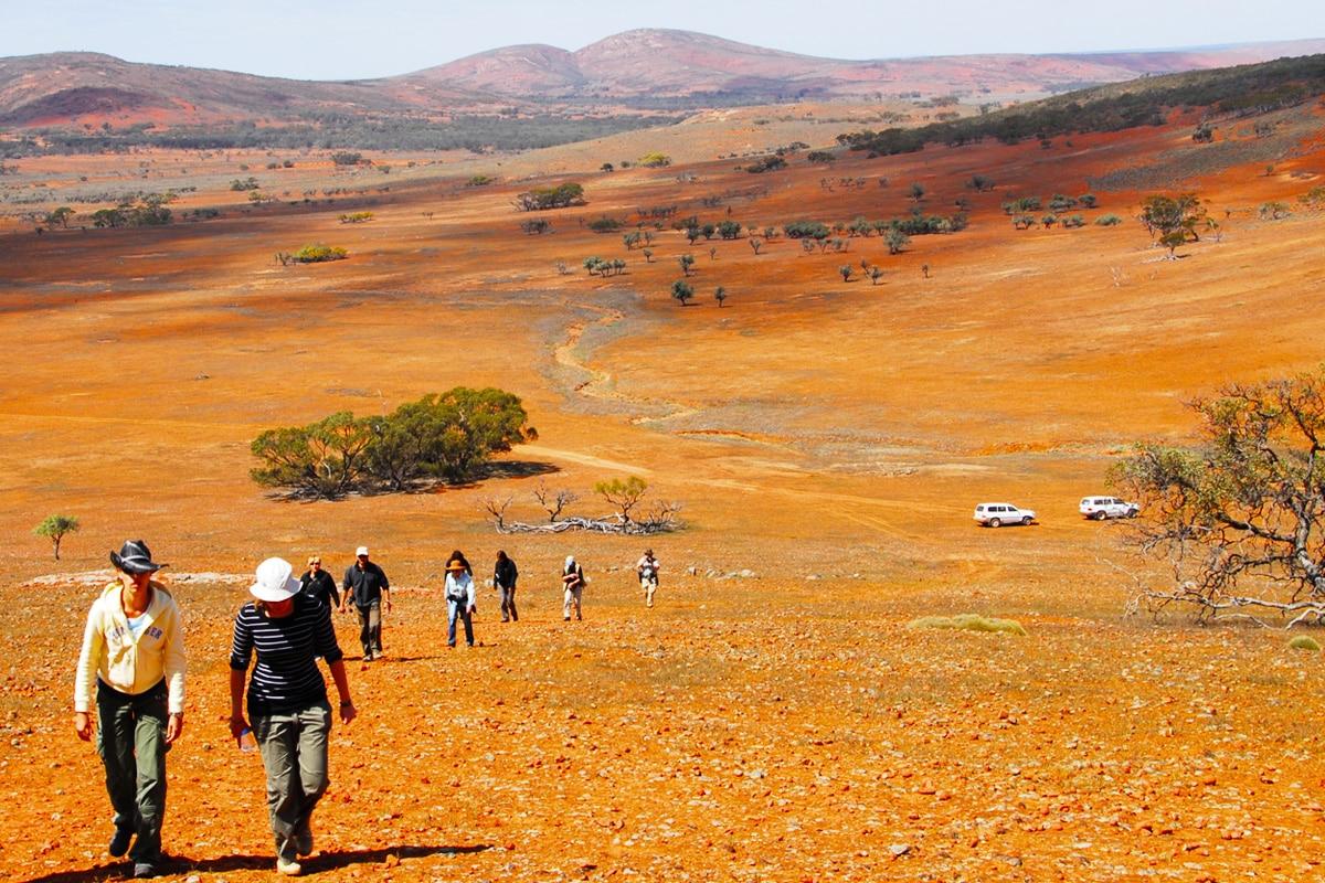 Beste Glamping Spots in der Nähe von Adelaide Gawler Ranges Wilderness Safaris