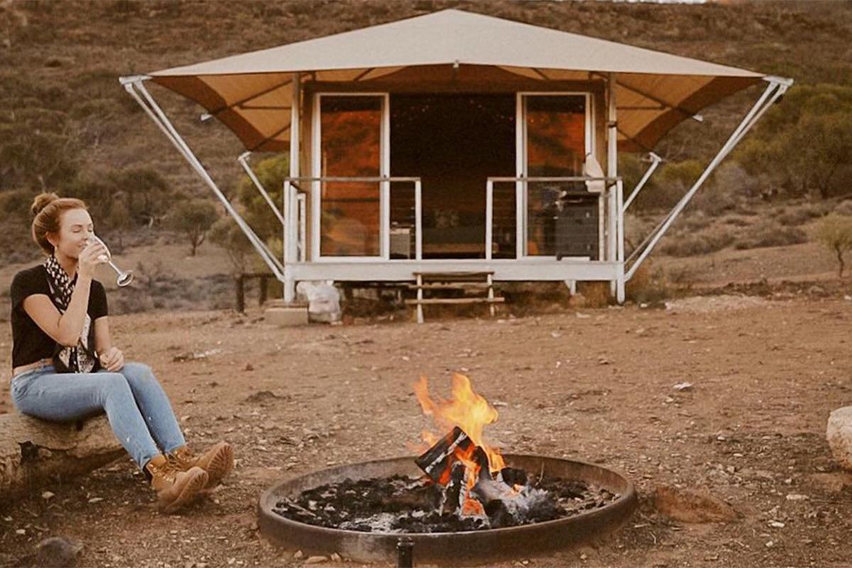 Beste Glamping Spots in der Nähe von Adelaide Flinders Bush Retreats