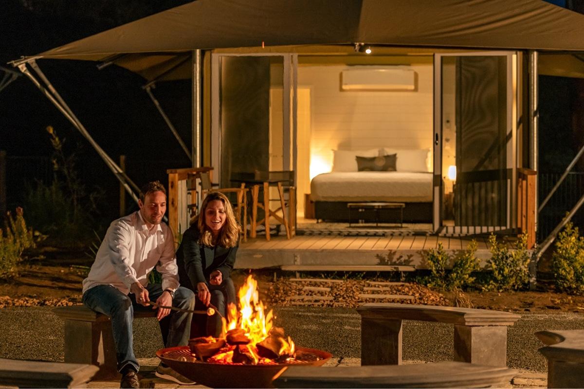 Beste Glamping Spots in der Nähe von Adelaide - Discovery Parks Barossa Valley