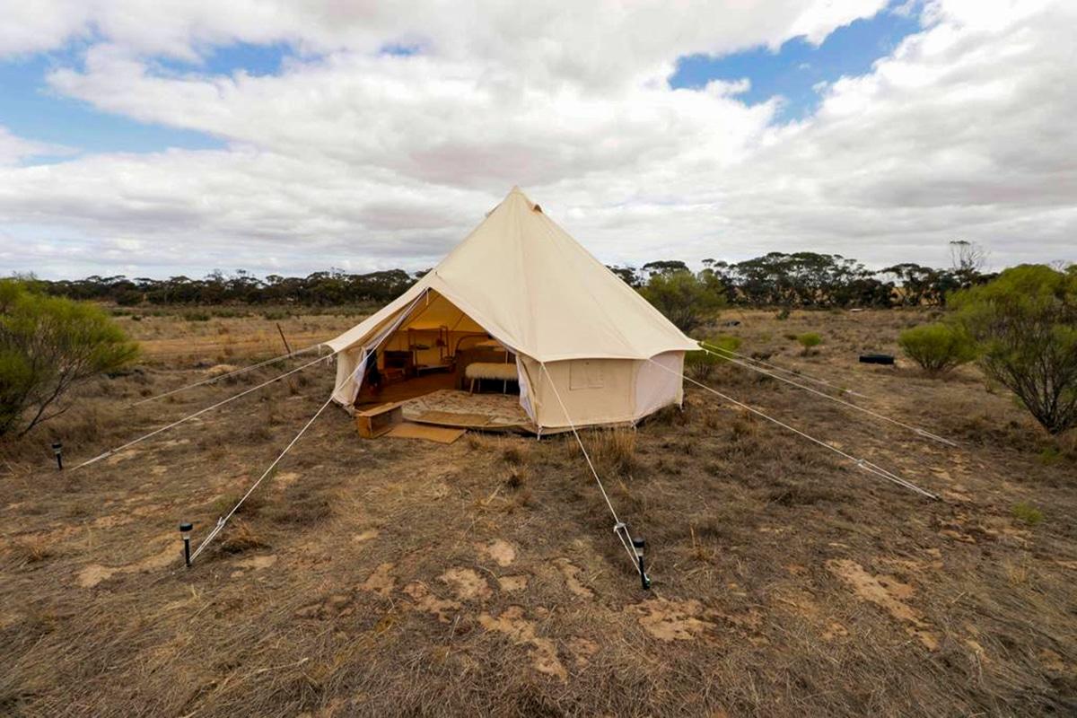Beste Glamping Spots in der Nähe von Adelaide Starfields Luxuscamping