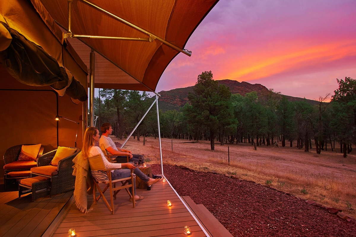 Beste Glamping Spots in der Nähe von Adelaide Wilpena Pound Resort