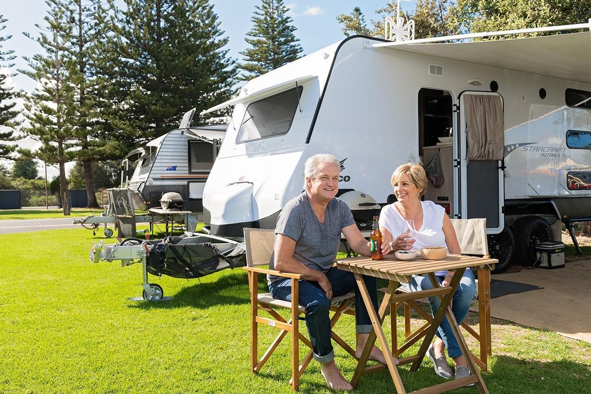 Beste Glamping Spots in der Nähe von Adelaide BIG4 West Beach Parks