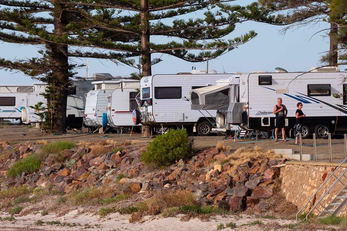 Beste Glamping Spots in der Nähe von Adelaide Moonta Bay Holiday Park