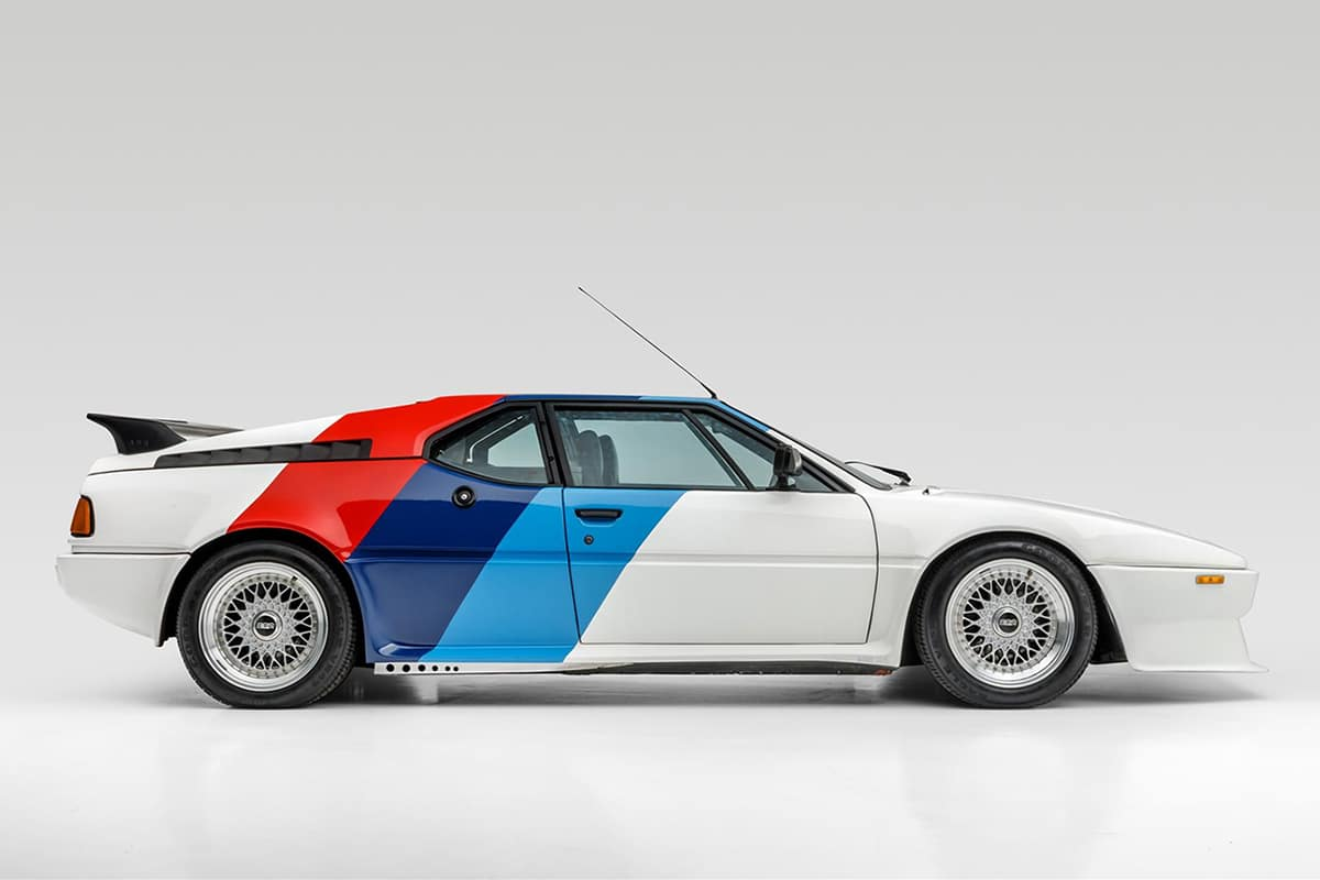 Paul Walker's BMW M1 AHG Studie Coupe