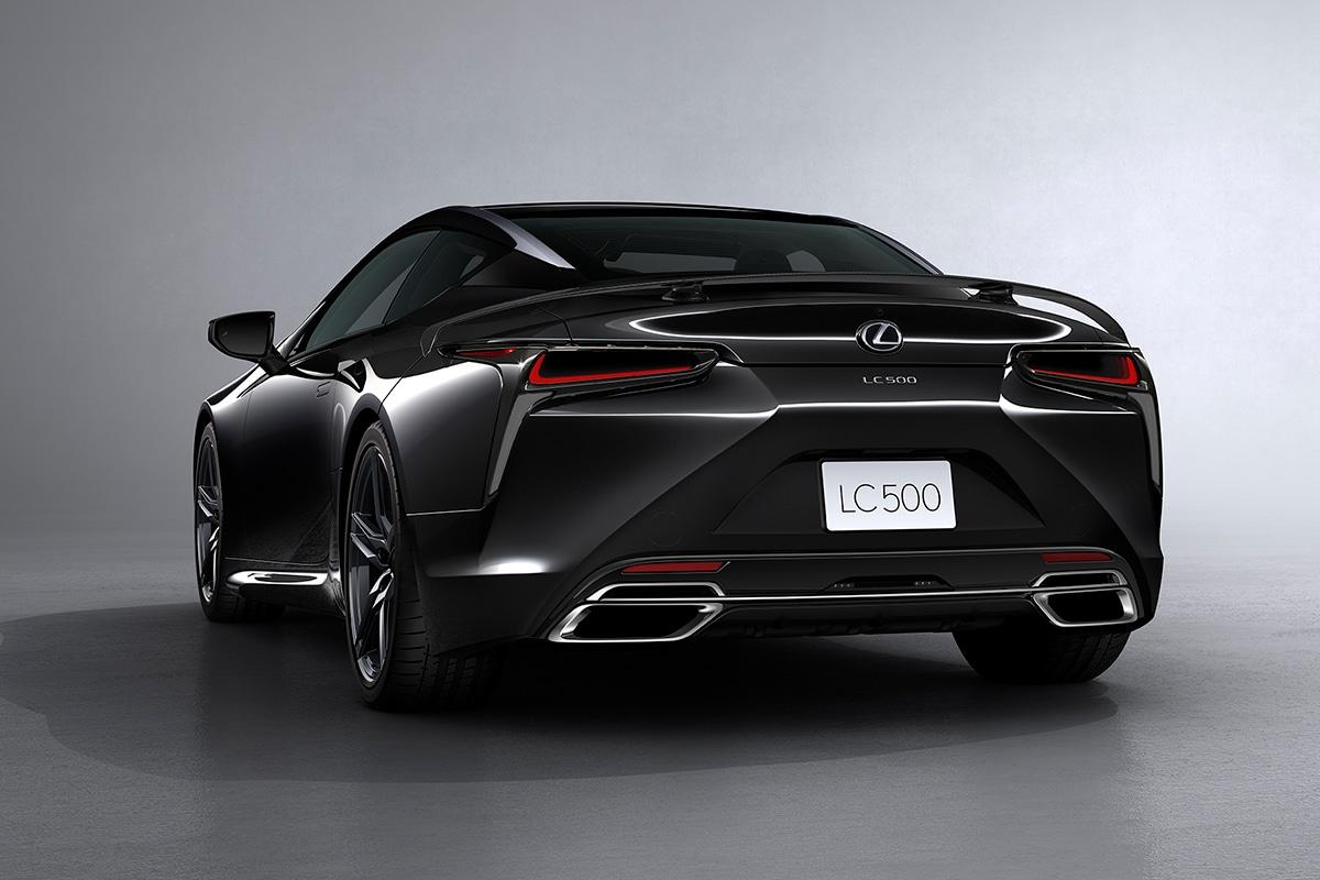 2021 Lexus LC 500 Inspiration Series Coupé Rückseite