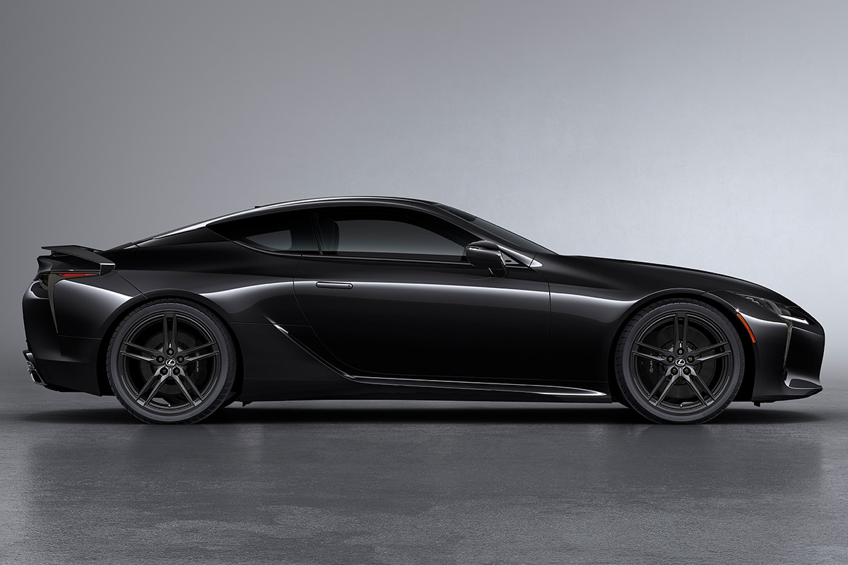 2021 Lexus LC 500 Inspiration Series Coupé Seite