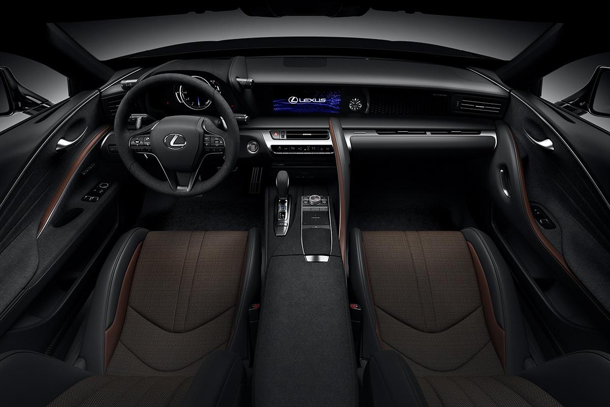 2021 Lexus LC 500 Inspiration Series Coupé-Armaturenbrett