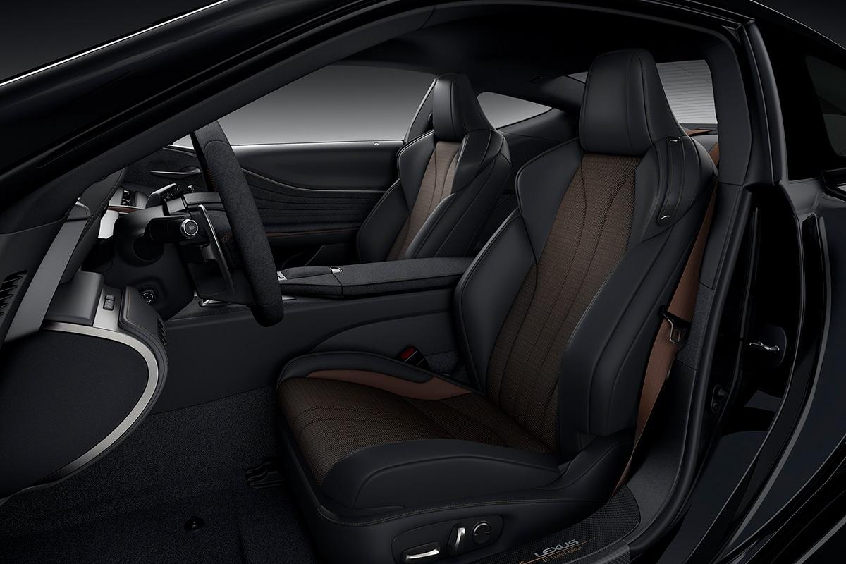 2021 Lexus LC 500 Inspiration Series Coupé Vordersitze