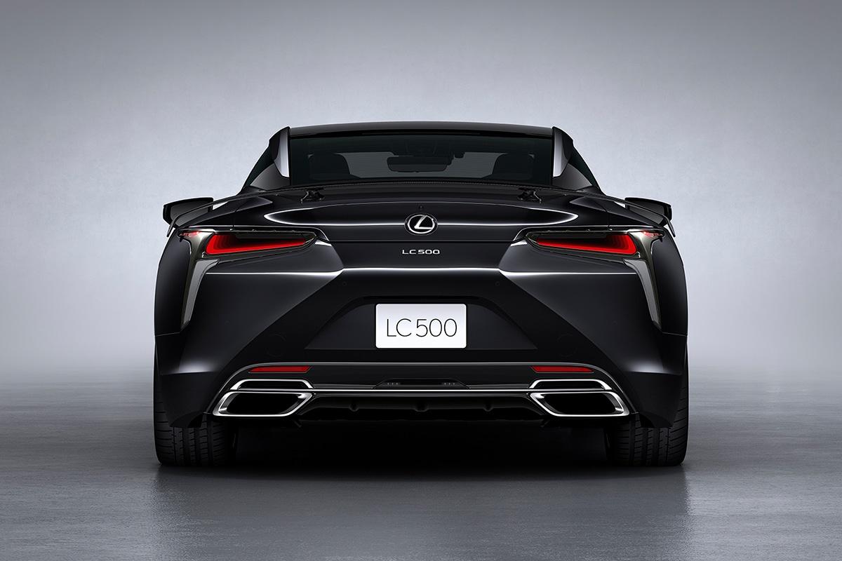 2021 Lexus LC 500 Inspiration Series Coupé zurück