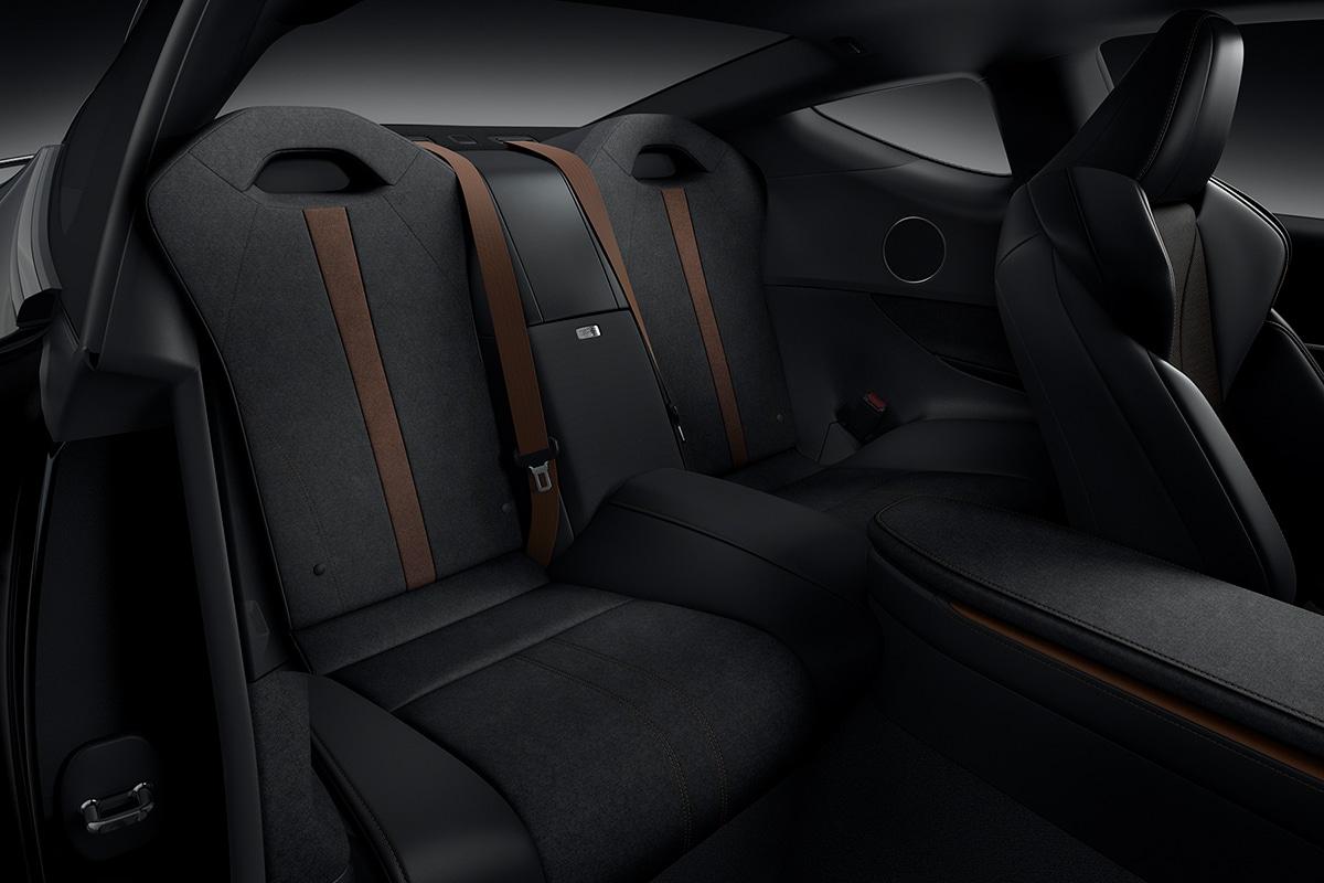 2021 Lexus LC 500 Inspiration Series Coupé Rücksitze