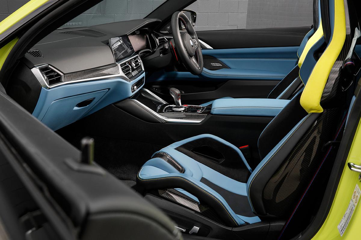 Neuer BMW M4 Interieur 1