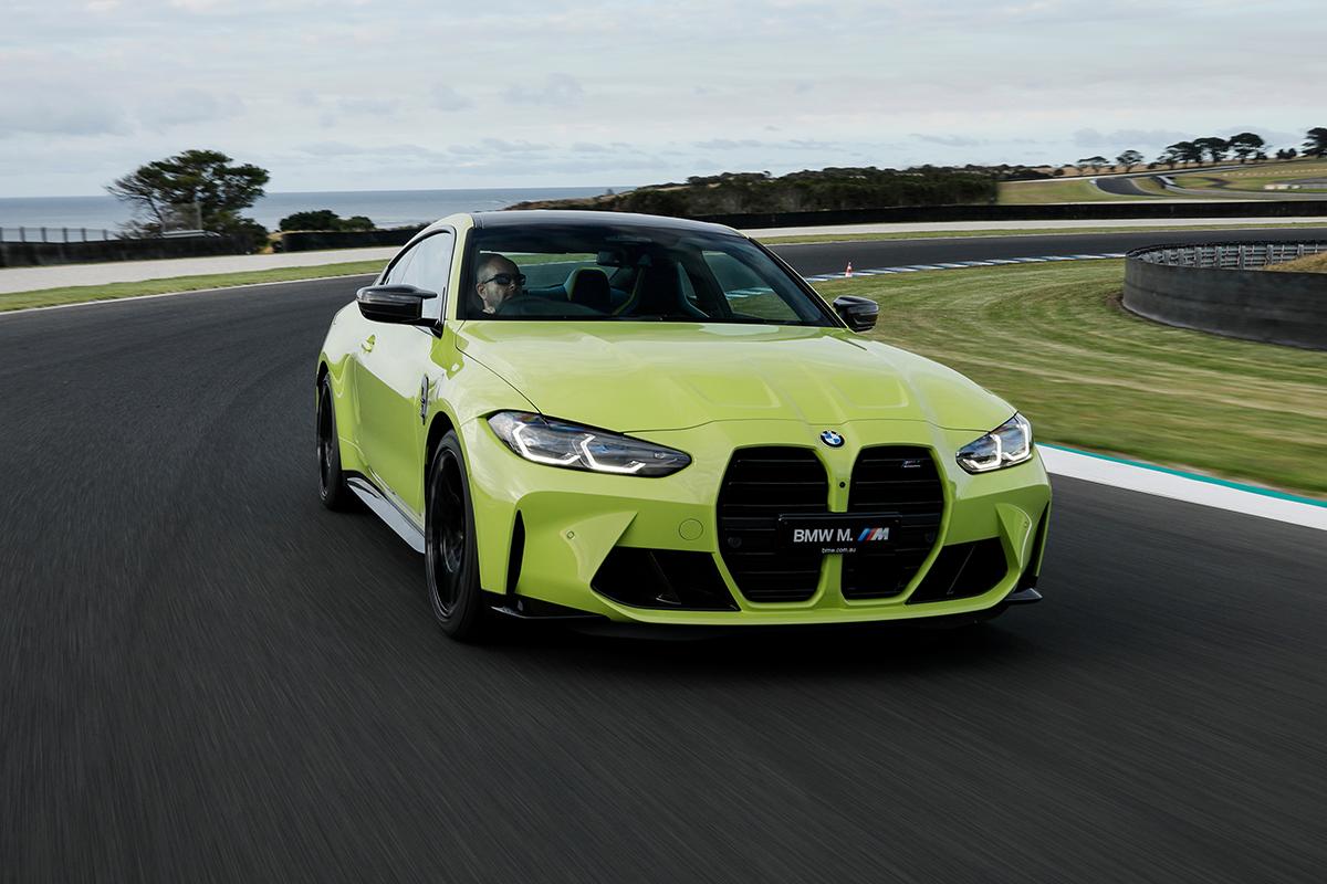 Neuer BMW M4 Gelb 2