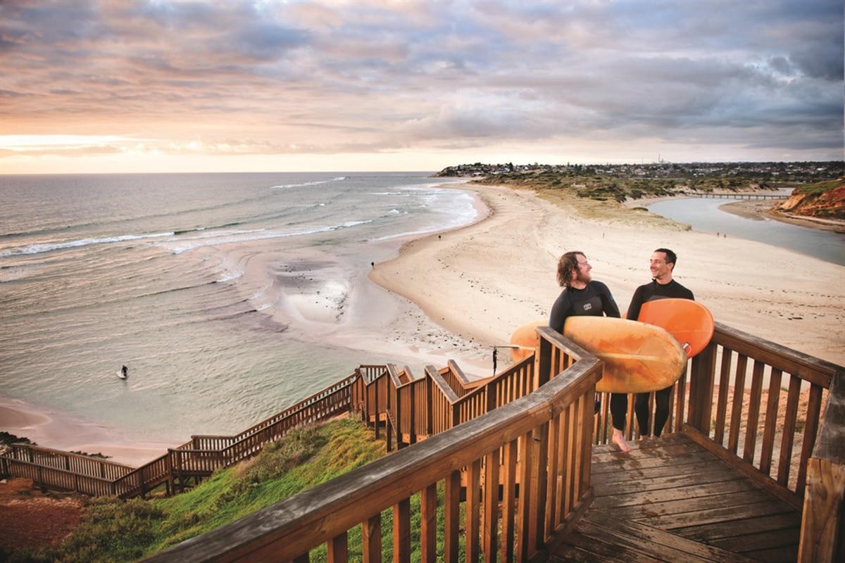 Beste Adelaide Strände zum Schwimmen, Surfen und Schnorcheln Port Noarlunga