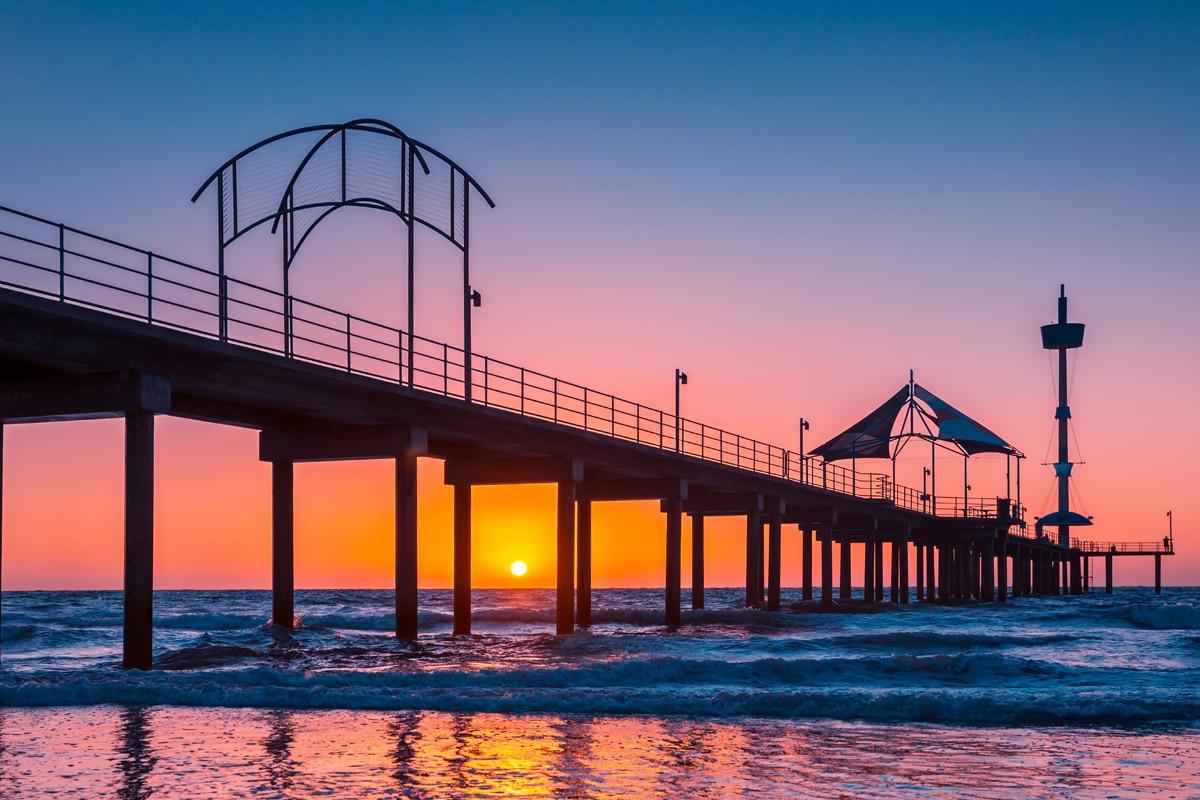 Beste Adelaide Strände zum Schwimmen, Surfen und Schnorcheln Brighton