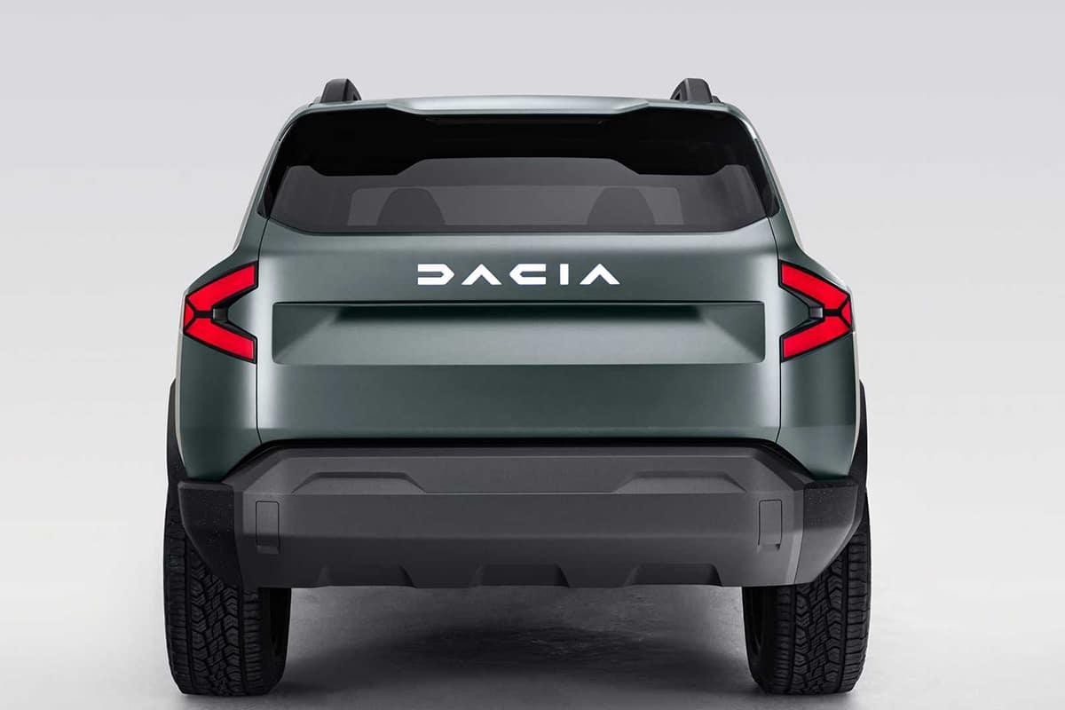 Dacia Bigster SUV zurück