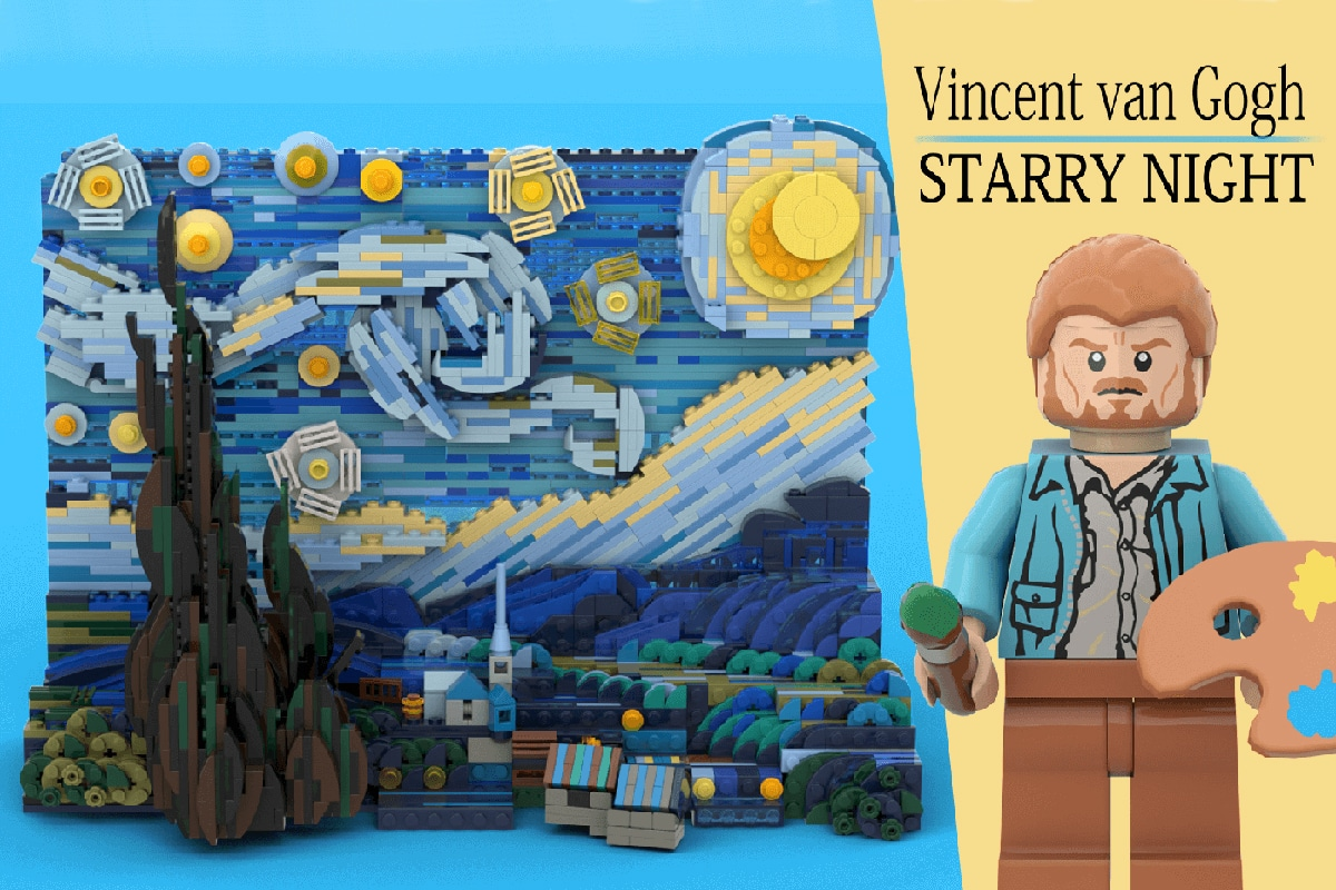 van Goghs 1,552-teiliges LEGO-Set