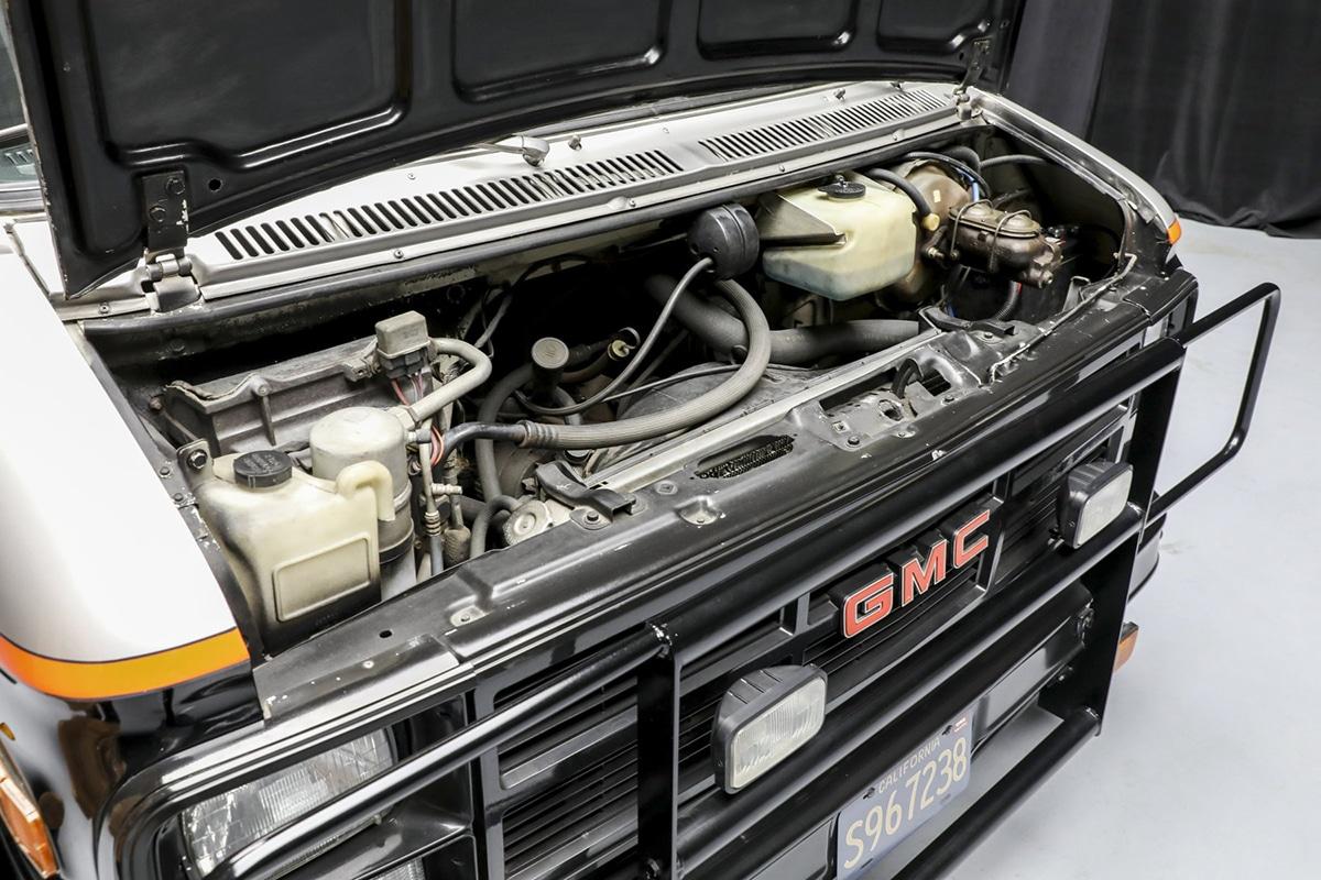 Ein Team-Van für die Auktionsmaschine