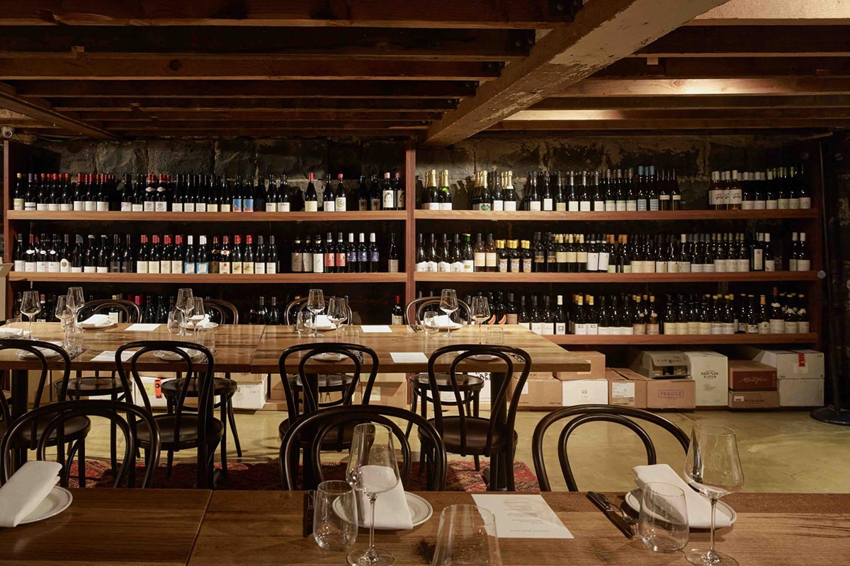 Beste Lygon Street Restaurants Carlton Wine Room