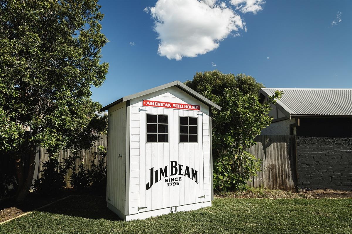 Jim Beam Hinterhof Bar