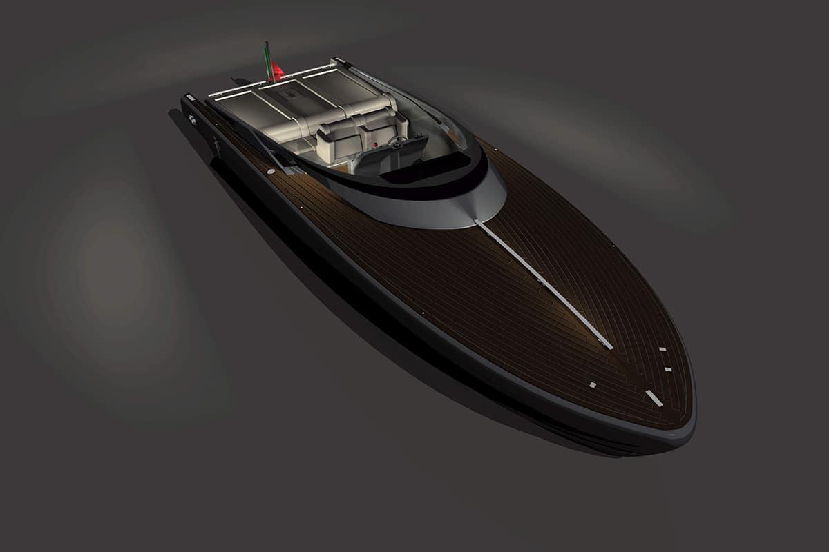 Pmp entwirft ein fünfzigjähriges Konzeptboot