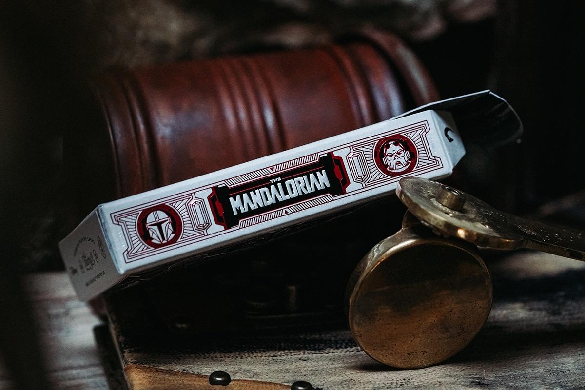 Mandalorianische Spielkartenbox
