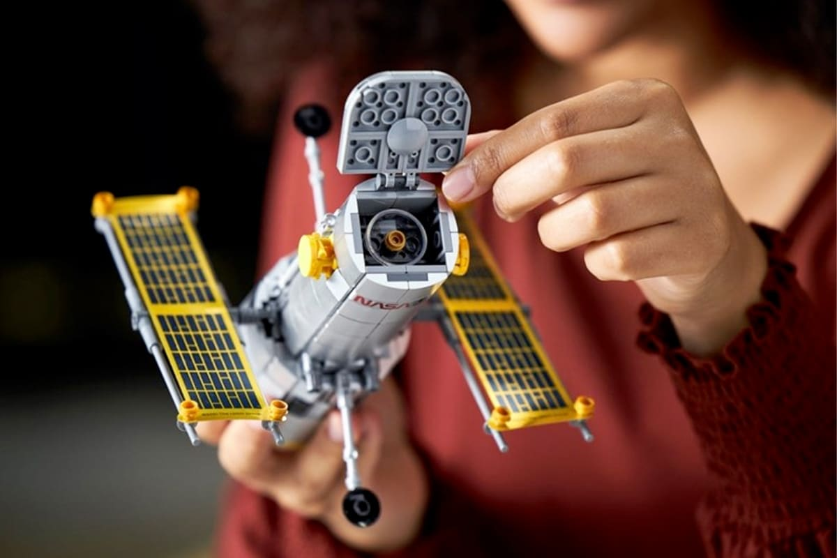 4 Lego auf Entdeckung und Hubble-Set