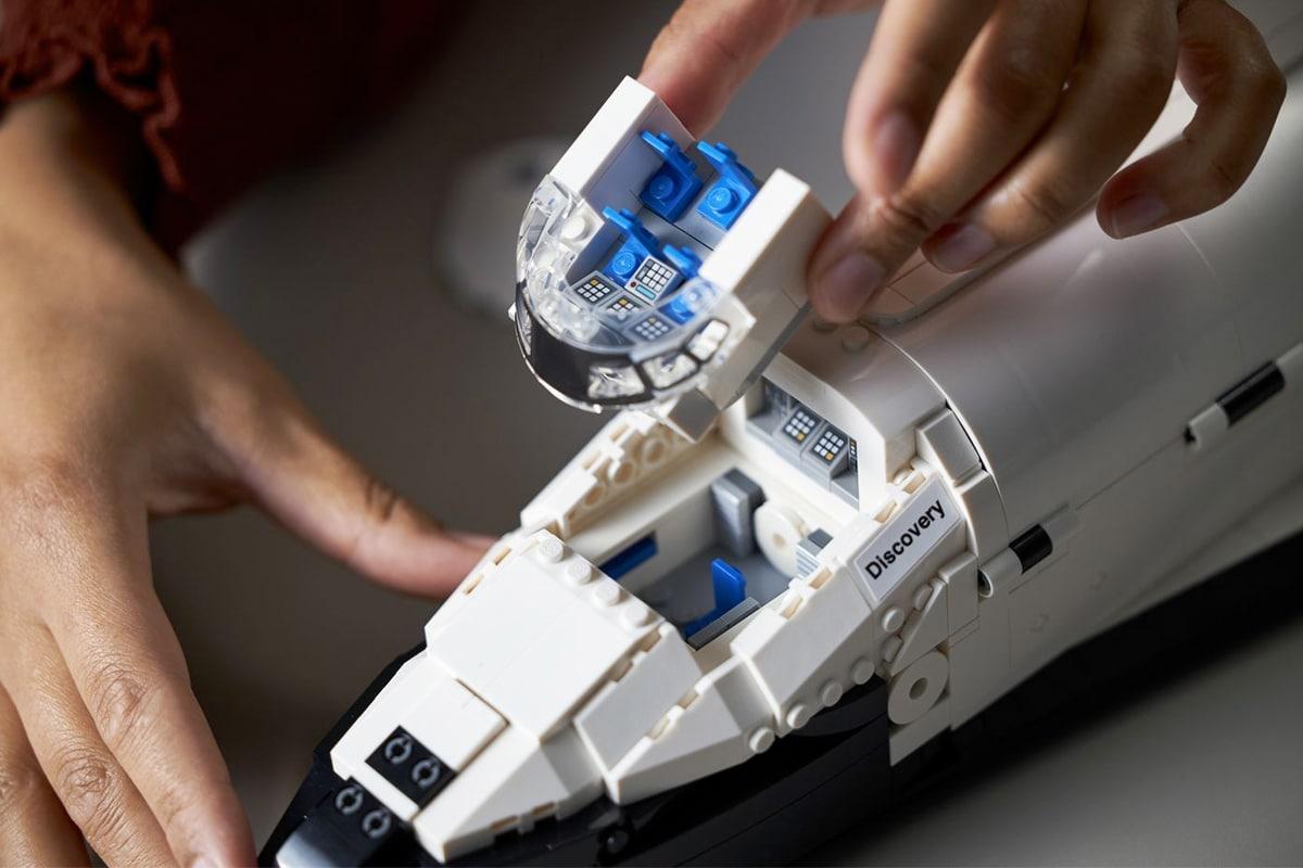 3 Lego auf Entdeckung und Hubble-Set