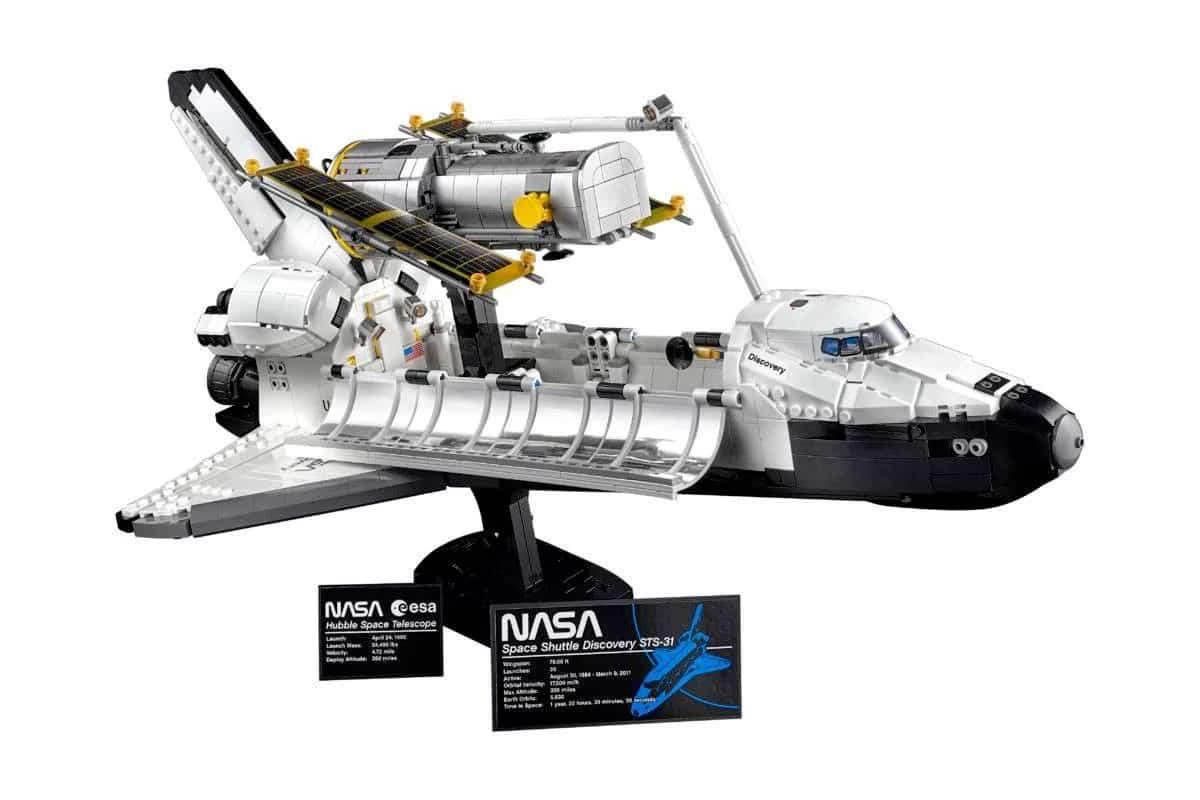 2 Lego auf Entdeckung und Hubble-Set