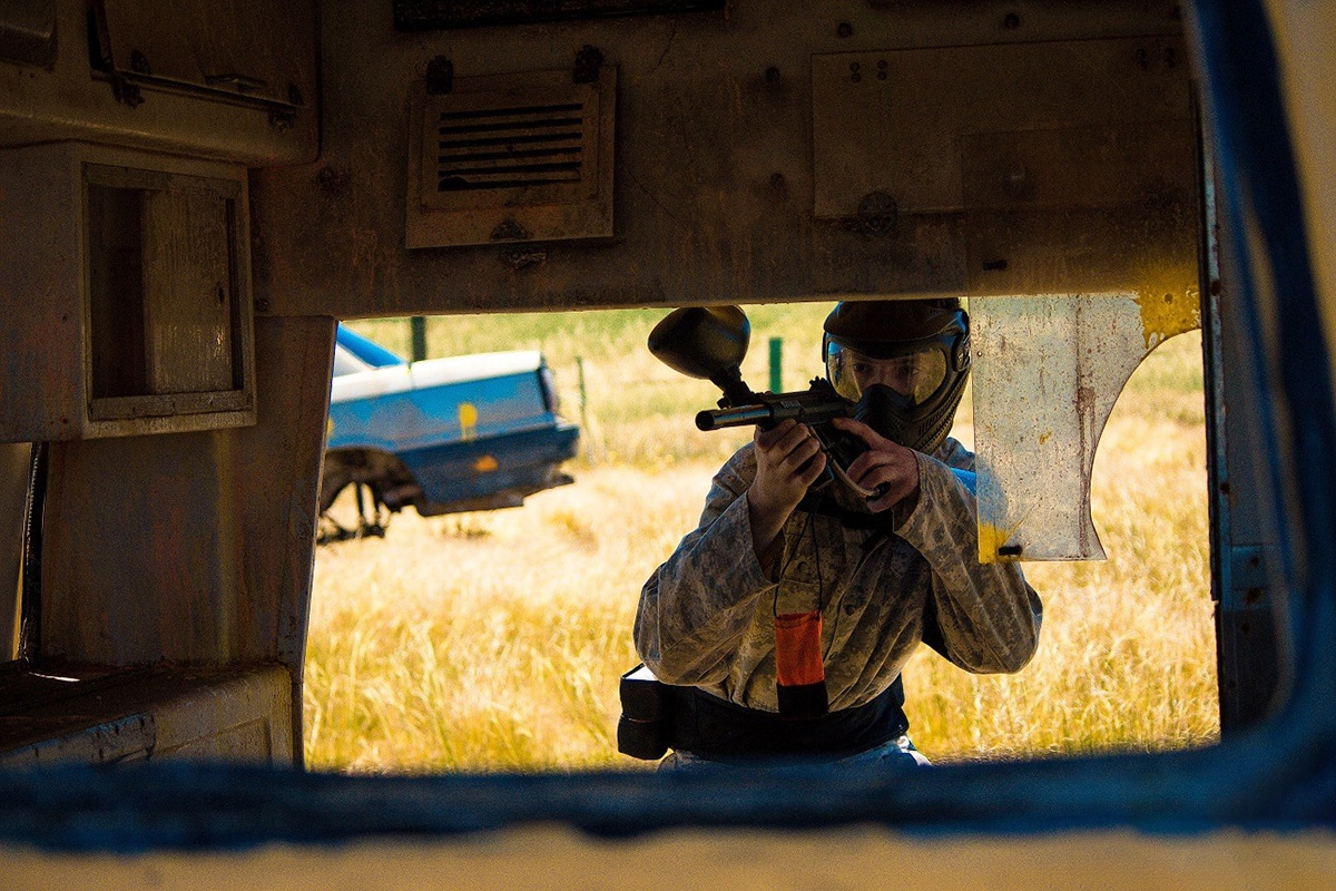 Xtreme Paintball Spieler